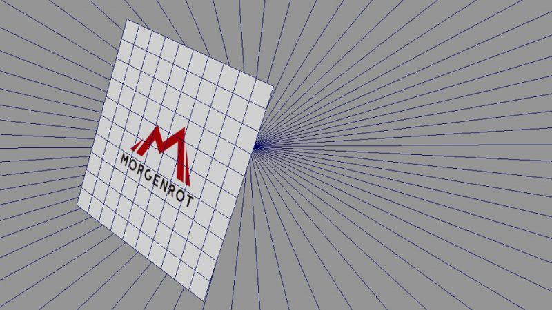 アルファマップ使用した例- Maya Viewport