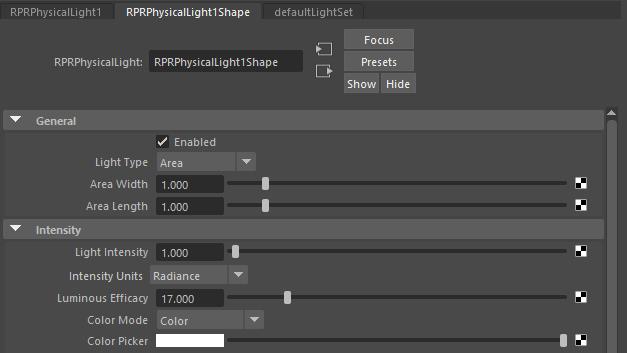 Physical Light