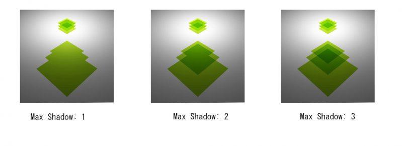 Max Shadow/ マックスシャドウの調整