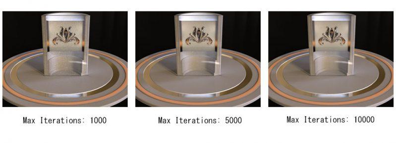 固定サンプリングモードで画像の品質がどのように変化するか