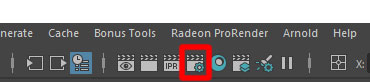 Display Render Settingsをクリック